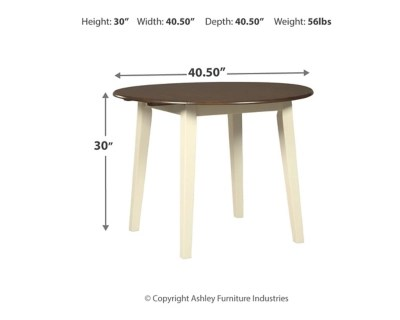 Woodanville Dining Room Table Ashley Furniture HomeStore