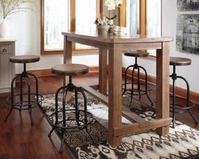 Pinnadel Dining Room Bar Table Ashley Furniture HomeStore