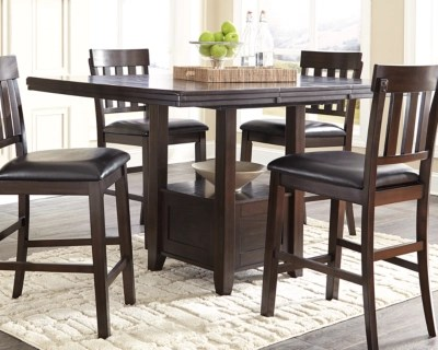 Haddigan Counter Height Dining Extension Table Ashley Furniture Homestore