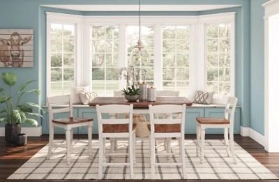 Marsilona Counter Height Dining Room Table Ashley