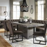 Tripton Corner Dining Bench Ashley Furniture Homestore