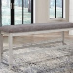 Teganville Counter Height Dining Bench Ashley Furniture Homestore