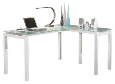 Baraga 61 L Shaped Home Office Desk Ashley Furniture Homestore