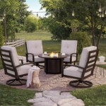 Castle Island Outdoor Fire Pit Table Ashley Furniture Homestore