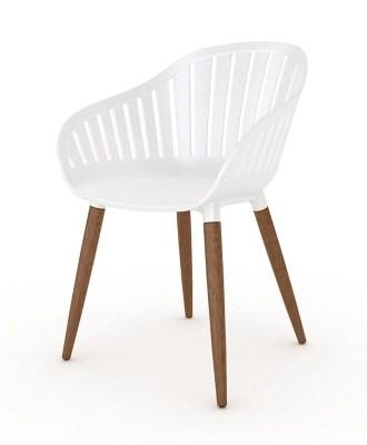modern white resin patio chairs