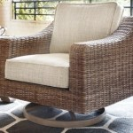 Beachcroft Outdoor Swivel Lounge Chair Ashley Furniture Homestore