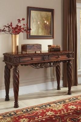 North Shore SofaConsole Table Ashley Furniture HomeStore