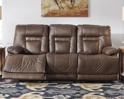 wurstrow power reclining sofa umber large