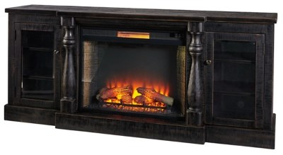 Mallacar 75 TV Stand With Electric Fireplace Ashley