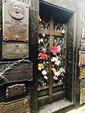 Eva Peron grave site