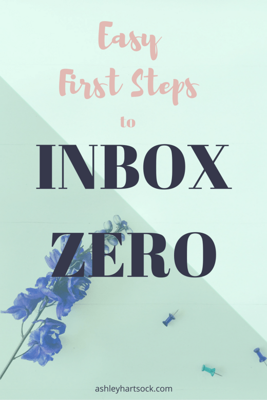 Easy First Steps to Inbox Zero