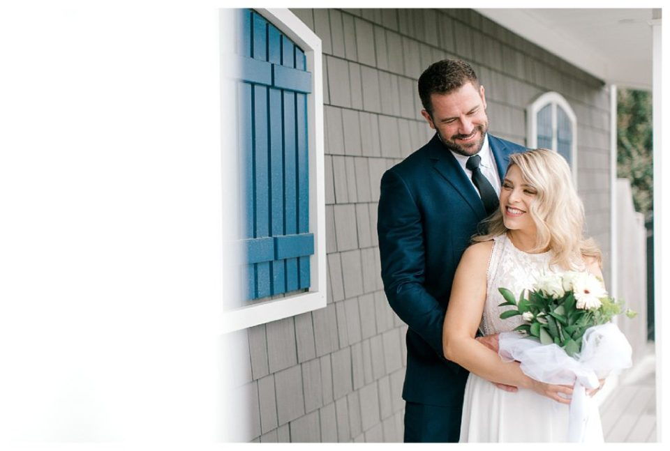 Sandbridge beach house wedding