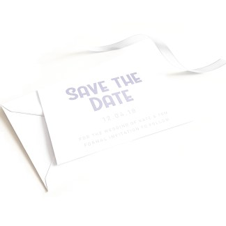 Lavender Save the Date
