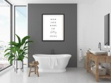 'Wash Your Hands You Filthy Animal' Bathroom Print