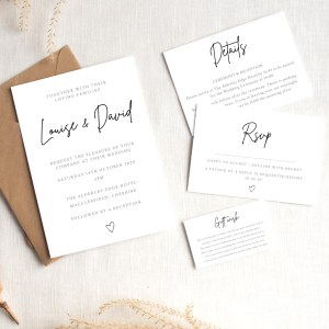 Invitation Packages