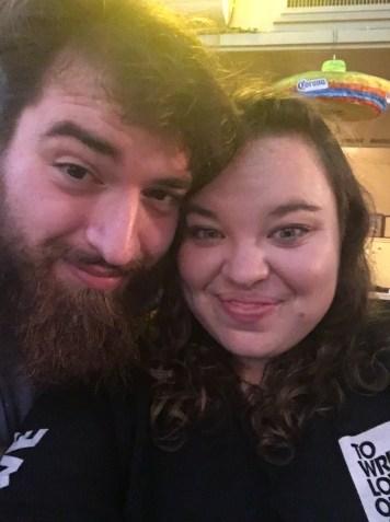 Ashley and Sean at Virgils