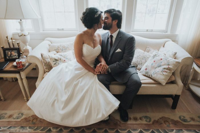 Historic home wedding