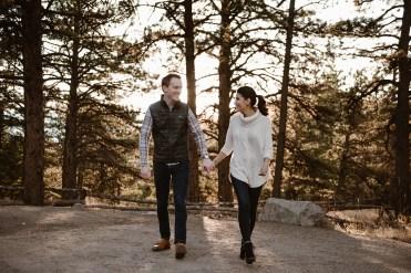 Lost Gulch Overlook Chautauqua Park Engagement Photos Ashley Joyce Photography 2020