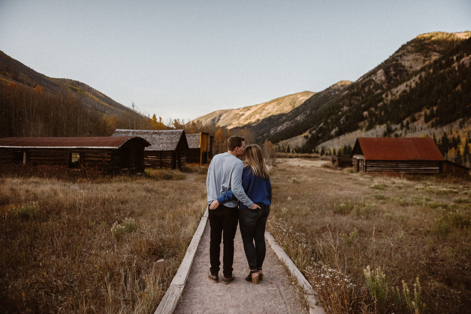 Aspen engagement photographer Ashley Joyce Photography