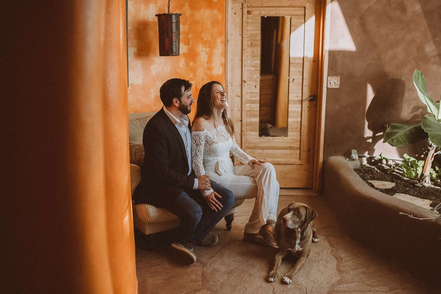 Earthship Elopement | Elope in an Earthship | Earthship wedding | Taos wedding | Taos elopement | Mountain elopement | Elope in Taos | Ashley Joyce Photography 2020