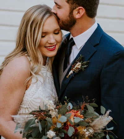 Fall Elopement at Cades Cove in the Great Smoky Mountains National Park by Ashley Leffew Photography