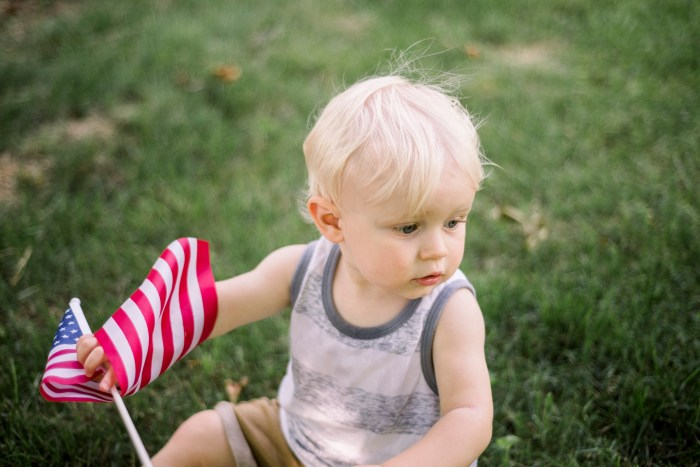 4th of July Photography Dayton Family Photographer