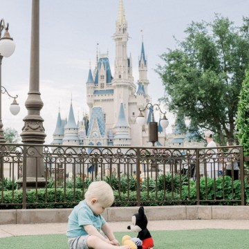 Disney World Tips with a Baby