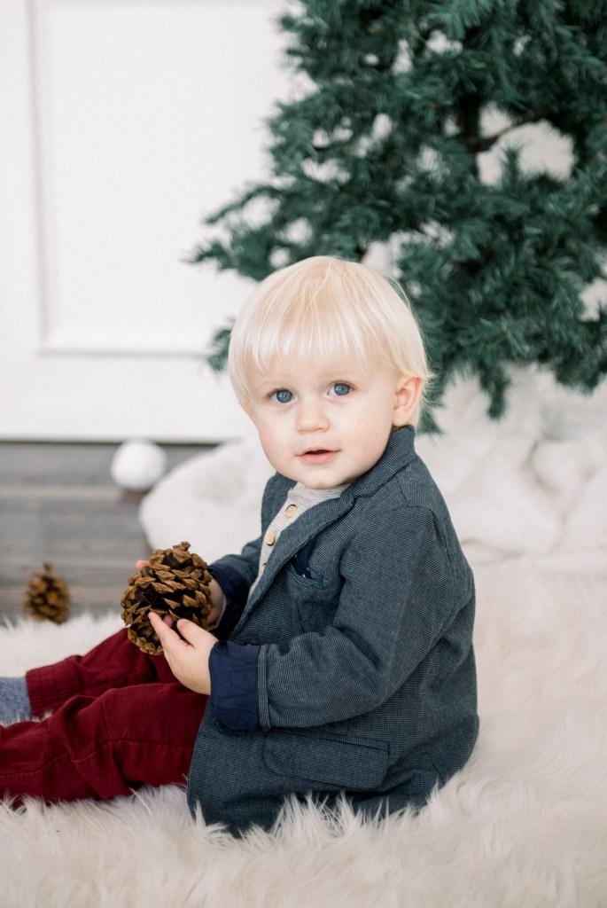 Charming Christmas mini photography session in Dayton, Ohio