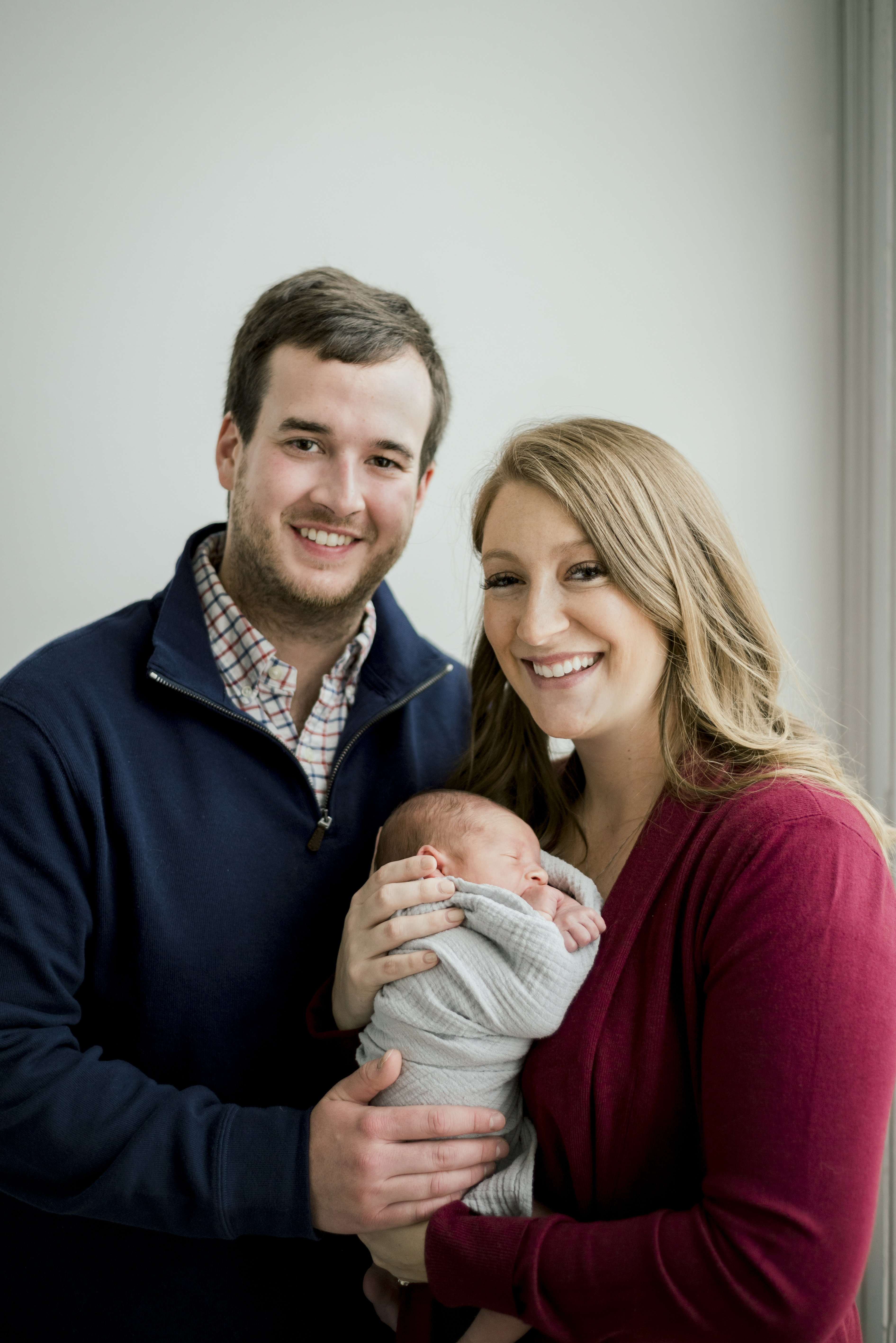Newborn family photography in Dayton, Ohio.
