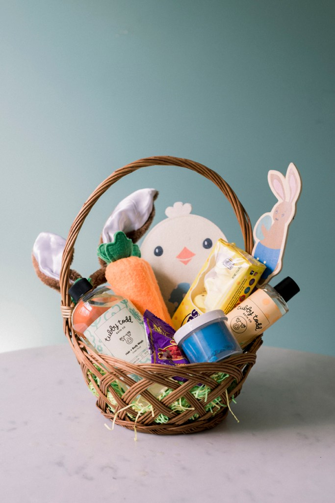 A Quarantined Easter Basket