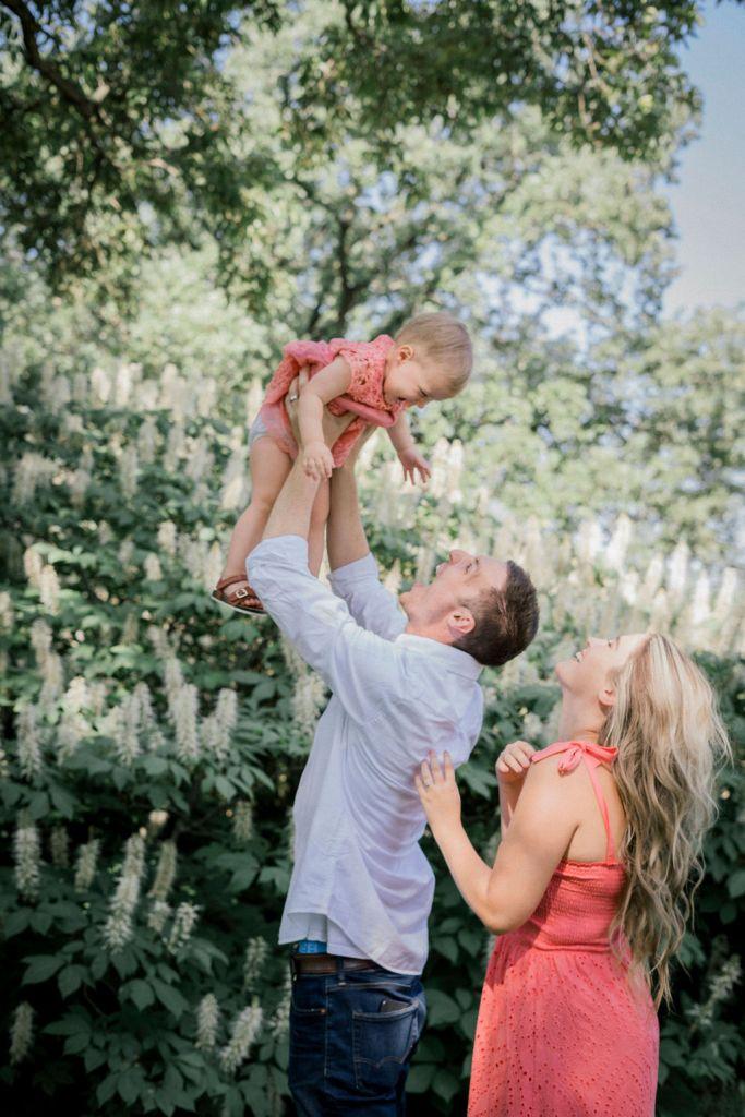 Family Photo Session at Cox Arboretum in Dayton, Ohio