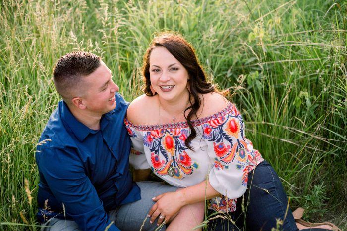 Cox Arboretum couples portrait session by Ashley Lynn Photography