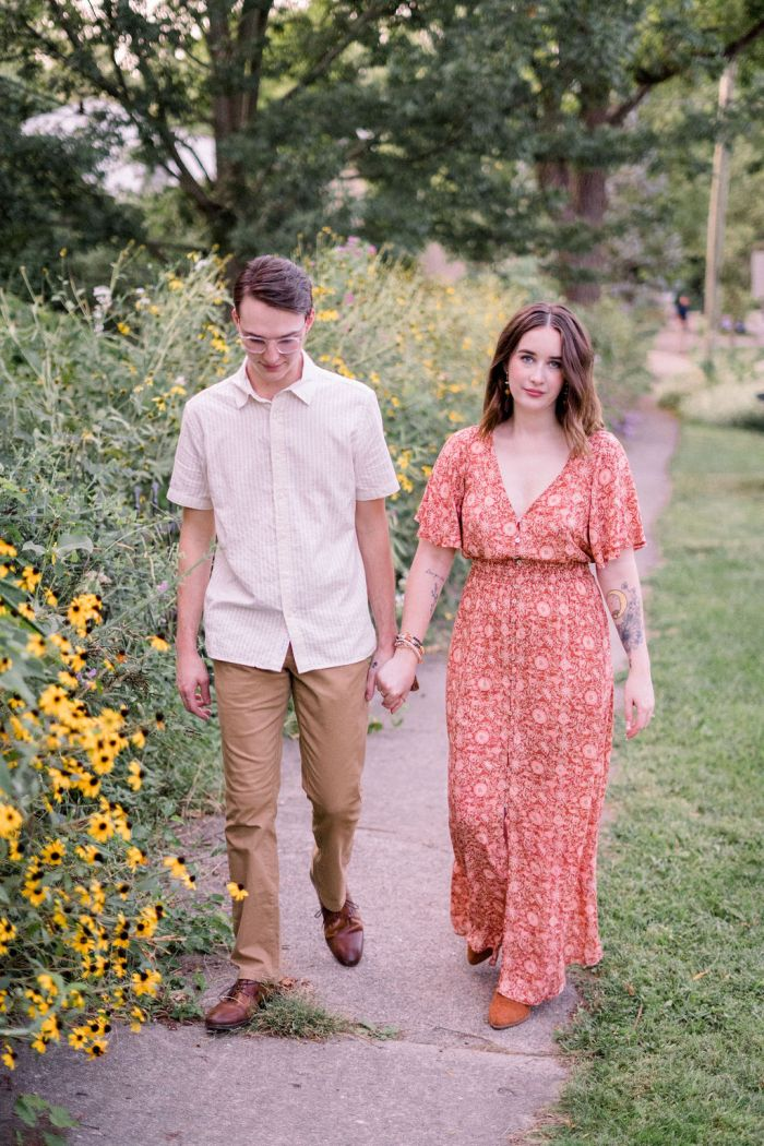 Engagement Portraits in Yellow Springs, Ohio