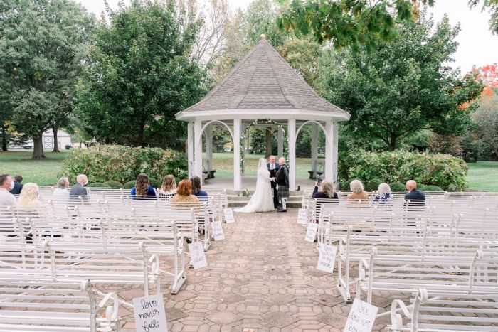 The Gazebo at Polen Farm in Kettering