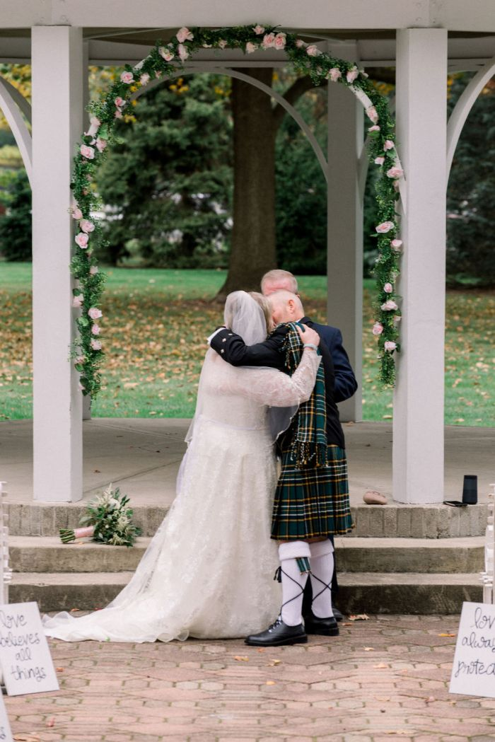 Ramona and Scot's Intimate Irish Wedding Ceremony