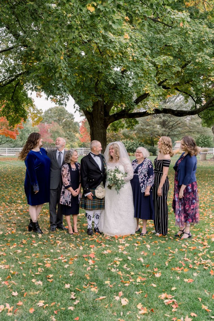 Fall wedding photography | Ashely Lynn Photography