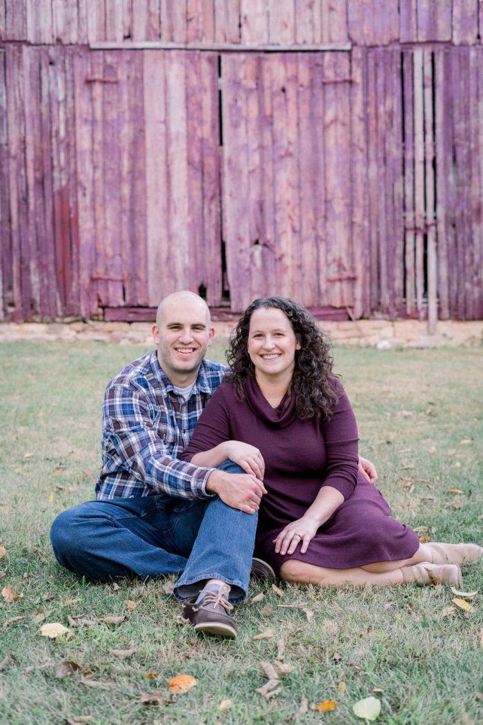 Couples Portrits | The Ohio Barn, Fairborn Ohio