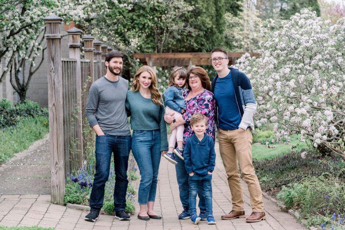 Family Portrait Session at Wegerzyn Gardens
