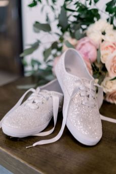 The Bride's Shoes | Wedding Photography by Ashley Lynn Photo