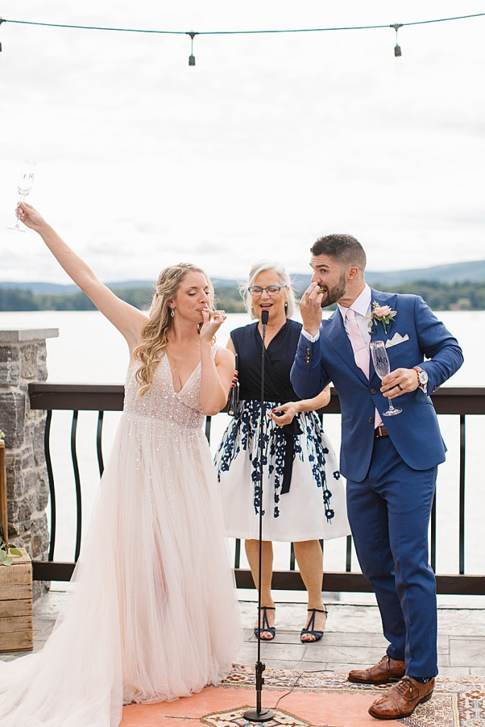 lakeside wedding day photographed by Ashley Mac Photographs