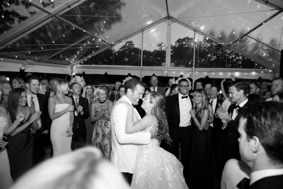 bride and groom dance photographed by Ashley Mac Photographs
