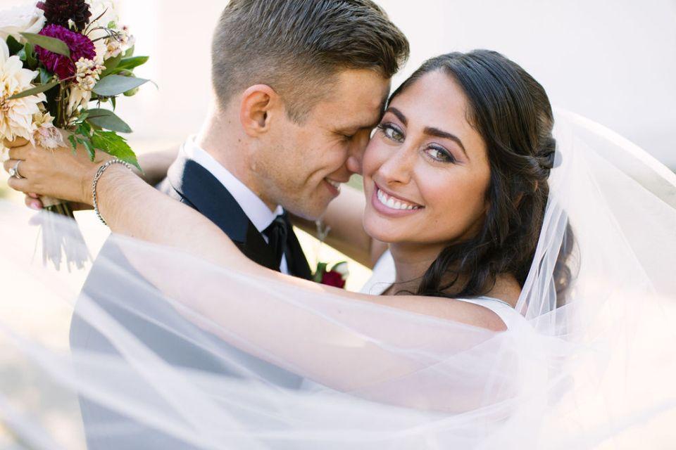 wedding photos at Sandy Hook Chapel by Ashley Mac Photographs