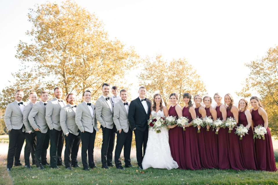 Ashley Mac Photographs captures bridal party in New Jersey