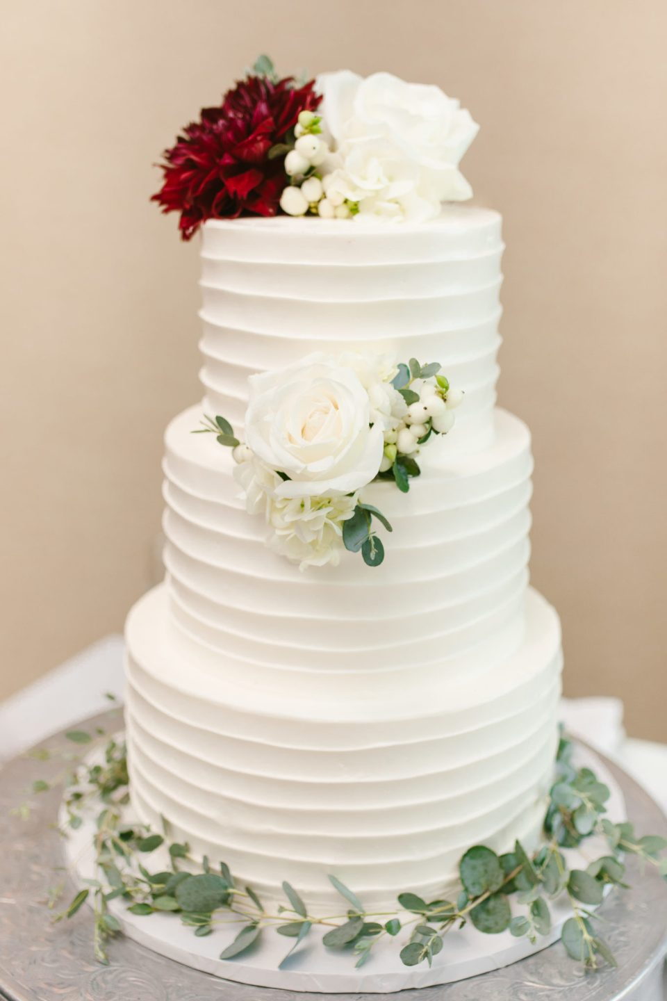 wedding cake by Navesink Country Club