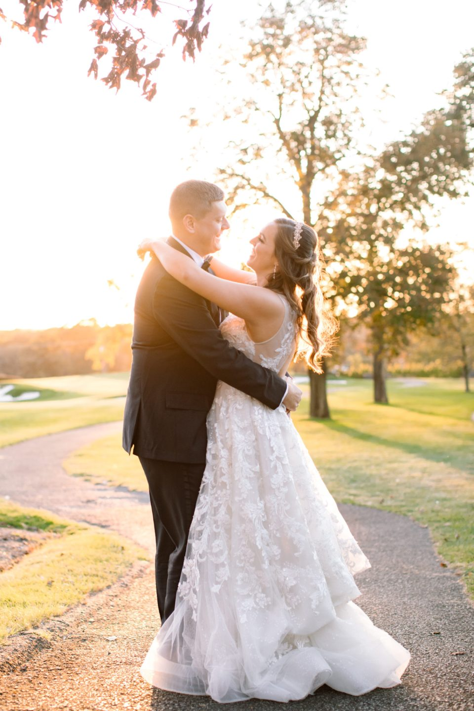 Navesink Country Club wedding portraits with Ashley Mac Photographs