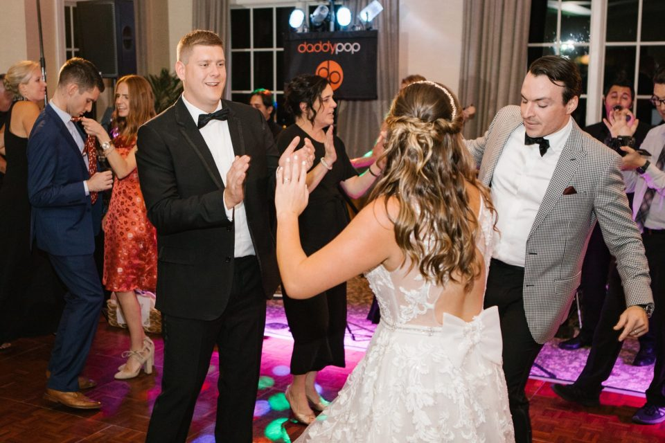 wedding reception fun with Ashley Mac Photographs