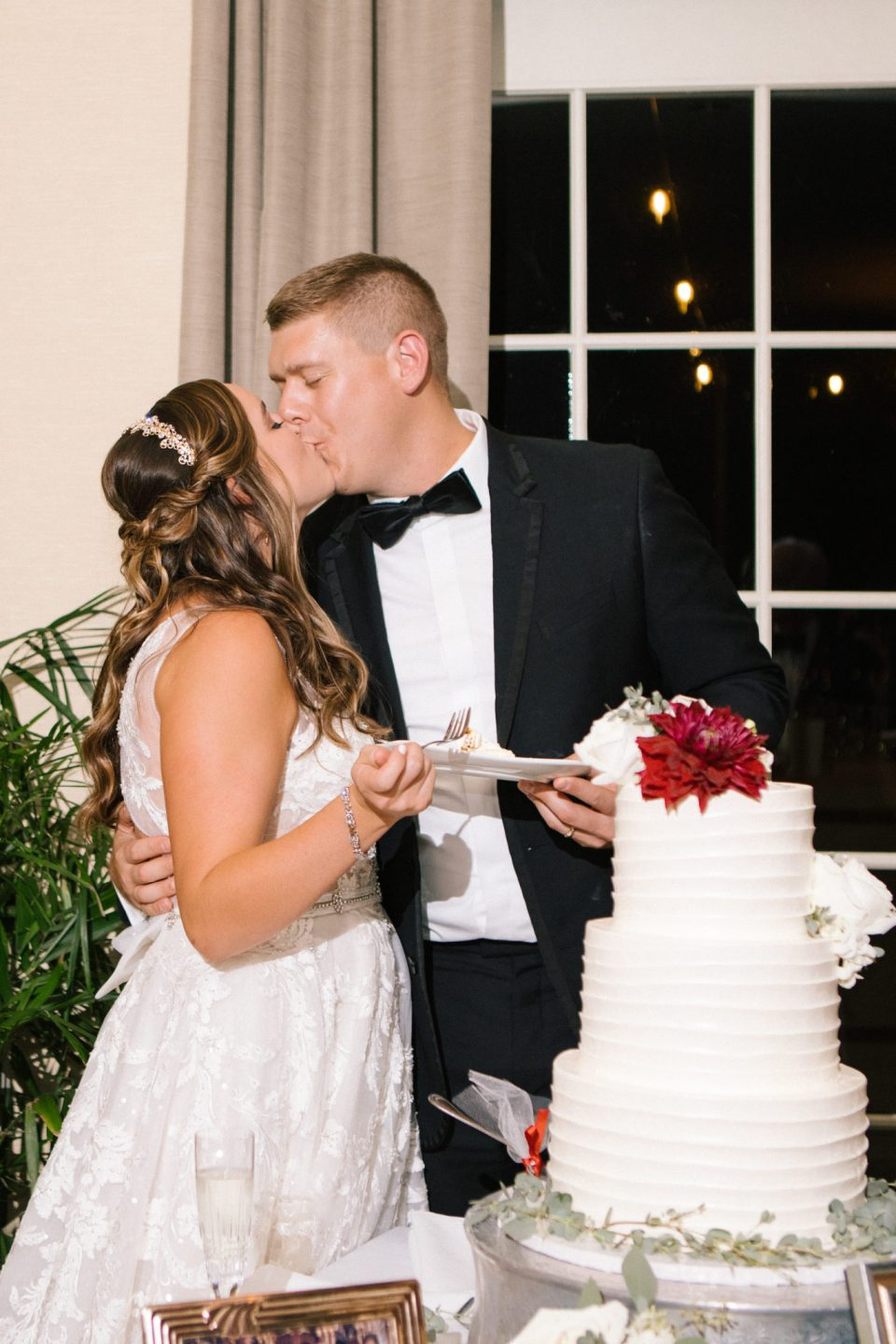 cake cutting at Navesink Country Club with Ashley Mac Photographs