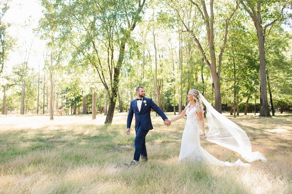 wedding portraits at Rumson Country Club Riverhouse with Ashley Mac Photographs