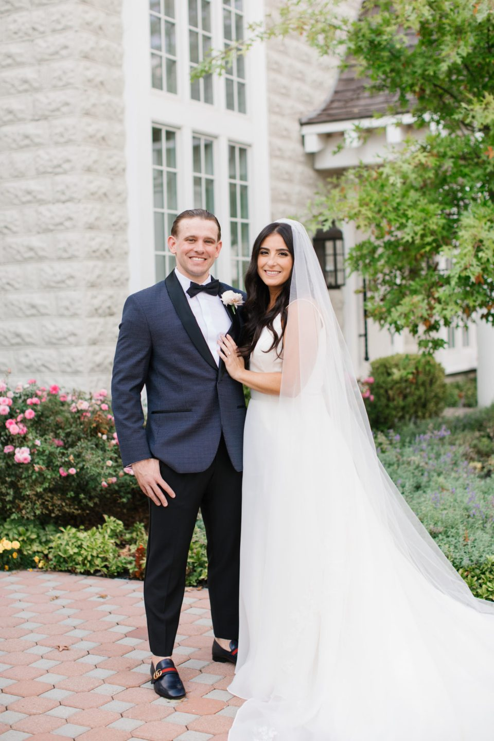 Ashley Mac Photographs captures Ryland Inn wedding portraits