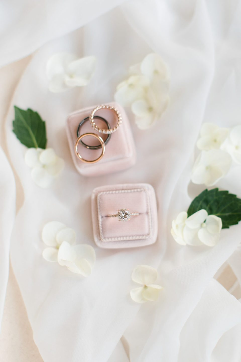 Ashley Mac Photographs photographs rings for NJ wedding day